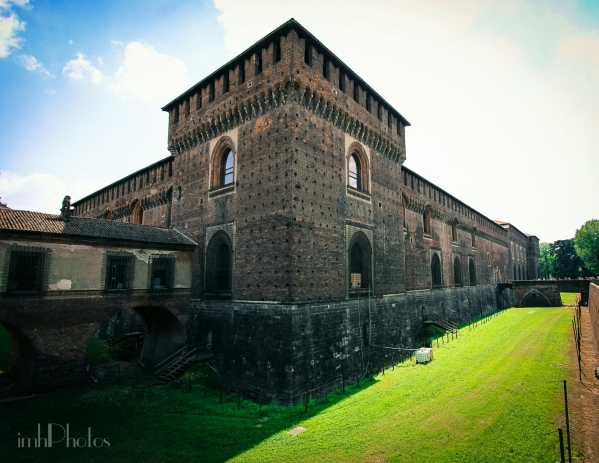 Sforzesco Castle - Torre Falconiera