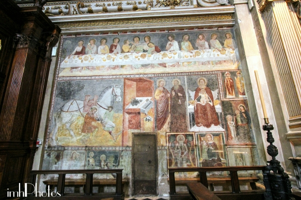 Giottesque frescoes