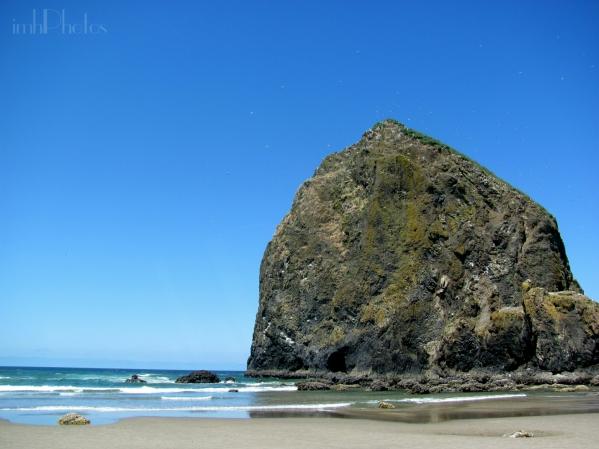 Beautiful day at Haystack Rock