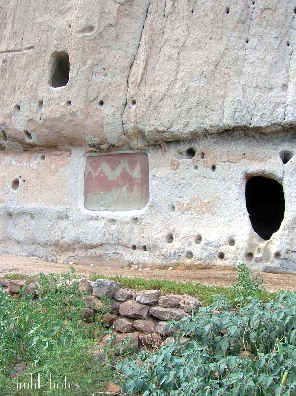 Pictograh and Viga holes