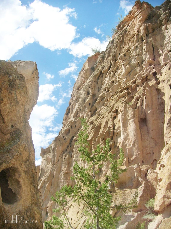 Volcanic Tuff cliffs