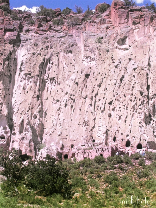 Volcanic Tuff cliff