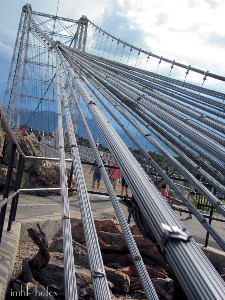 Royal Gorge bridge cables